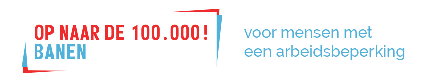 Op naar de 100.000 banen! Logo
