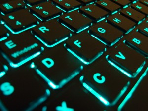 verlicht toetsenbord